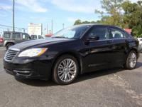 2012 CHRYSLER 200 LX, ONLY 29K MILES, ALLOYS WHEELS,