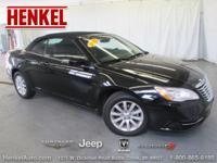 Options:  2012 Chrysler 200 Touring Conv.|Black
