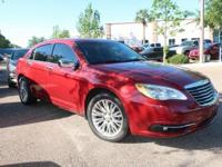 Deep Cherry Red Crystal Pearlcoat 2012 Chrysler 200