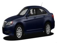 Clean CARFAX. Black 2012 Chrysler 200 Limited FWD