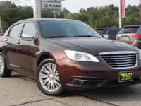 *** SPOTLESS AND WELL EQUIPPED *** This 2012 Chrysler