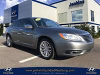 Recent Arrival! Clean CARFAX. This 2012 Chrysler 200
