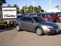 Options:  2012 Chrysler 200 4Dr Sdn Lx Used|Gray