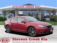 Options:  2012 Chrysler 200 S Sedan Wine V6 Flex Fuel