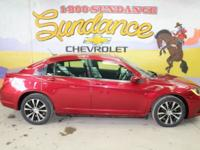 Red 2012 Chrysler 200 S FWD 6-Speed Automatic 3.6L V6