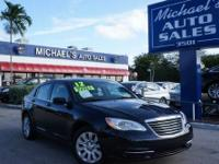 2012 CHRYSLER 200 SEDAN 4 DOOR Our Location is: Gus
