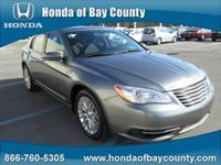 Honda of Bay County presents this 2012 CHRYSLER 200 4DR