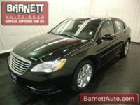 2012 Chrysler 200 Touring Black I4 2.4L Gas FWD This
