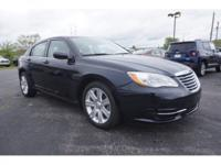 CARFAX One-Owner. Clean CARFAX. Blue 2012 Chrysler 200