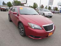 Exterior Color: red, Body: Sedan, Engine: 3.6L V6 24V