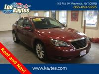 2012 Chrysler 200 Touring Deep Cherry Red Crystal