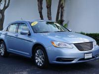 New Price! Certified. 2012 Chrysler 200 Touring in