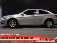 2012 Chrysler 200 Touring in Silver. 200 Touring, 4D