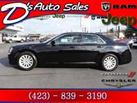 Chrysler 300 in Black. With 28,528 miles, this vehicle