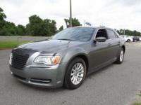 Great looking Tungsten Metallic 2012 Chrysler 300 with