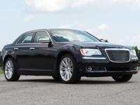 Gloss Black 2012 Chrysler 300C Luxury Series RWD
