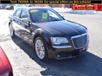 Here's a great deal on a 2012 Chrysler 300C! This is an