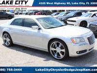 New Price! Clean CARFAX. Silver 2012 Chrysler 300