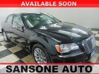 CARFAX One-Owner. Black 2012 Chrysler 300 Limited RWD