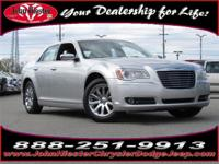 Options:  2012 Chrysler 300 Limited|Gray|Certified