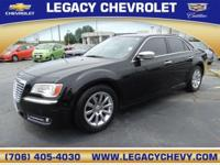 This 2012 Chrysler 300 Limited features a push button