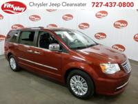 (CJE) Red 2012 Chrysler Town & Country Limited FWD