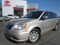 Push button start and DVD player!! This 2012 Chrysler