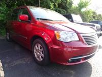 2012 Chrysler Town & Country Touring Red Metallic FWD