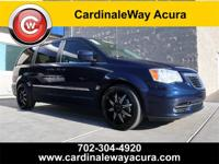 Clean CARFAX. 2012 Chrysler Town & Country Touring FWD