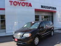 Black 2012 Chrysler Town & Country Touring FWD 6-Speed
