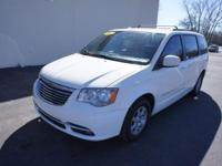 This 2012 Chrysler Town & Country minivan is offered in