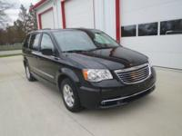 Exterior Color: black, Body: Minivan, Engine: 3.6L V6