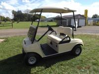 This is a 2012 Club Car Ds electric golf cart. 48