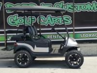 Cruise in style this summer in this new golf cart!