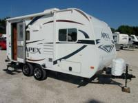 2012 Coachmen 17QB APEX 189 FBS -  Down,