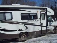 2012 Coachmen Concord, Gas fuel, 8,010 miles, Length: