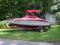 Specs: -Color: Red and White -Inboard/Outboard with