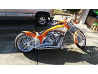 2012 Custom Built Chopper. This Bike Is A Completely