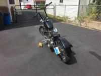 Used chopper/bobber titled as a 2012 but is assembled