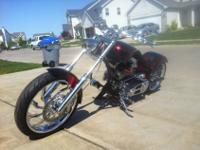 Custom one off Bike is almost new, has less than 3000