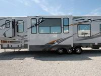 Heartland Cyclone 4014 Toy Hauler Fifth Wheel-Overview