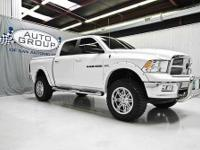2012 RAM 1500 LONE STAR 4X4 LIFTED BRIGHT WHITE/ LIGHT
