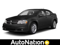 2012 Dodge Avenger Our Location is: AutoNation Honda