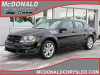 Options:  2012 Dodge Avenger R/T Front-Wheel Drive