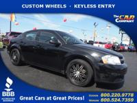 Used 2012 Dodge Avenger,  DESIRABLE FEATURES:   CUSTOM