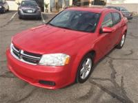 This 2012 Dodge Avenger has a L4, 2.4L high output