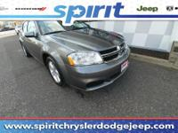 New In Stock... This 2012 Dodge Avenger SXT has less