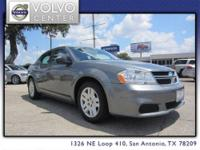 This 2012 Dodge Avenger w/ 17 Inch Wheels, Auxiliary