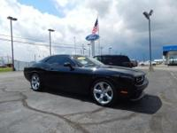 Black Clear Coat exterior, SXT Plus trim. CARFAX