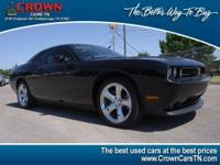 Challenger SE, 2D Coupe, 3.6L V6, 5-Speed Automatic,